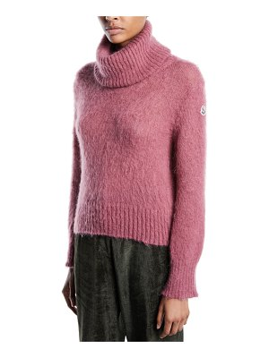Moncler Moncler Genius Ciclista Mohair Pullover Turtleneck Sweater