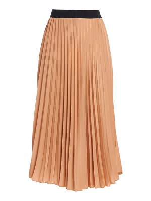 Moncler pleated midi skirt