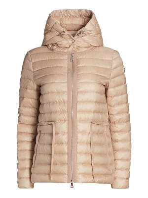 Moncler raie hooded puffer coat
