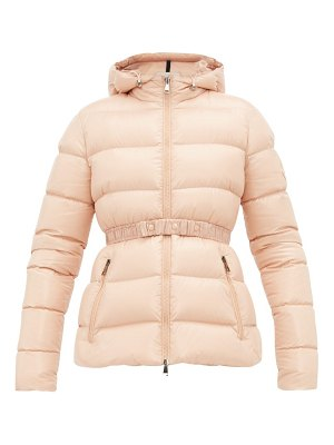 Moncler rhin lacquered quilted down jacket