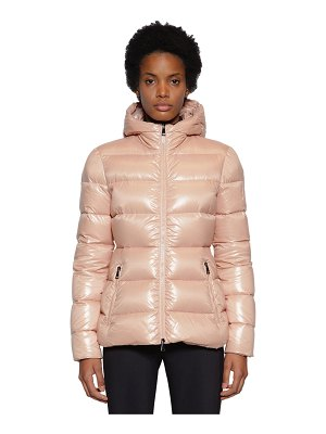 Moncler Rhin nylon logo down jacket