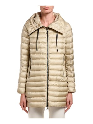 Moncler Rubis Hooded Puffer Jacket