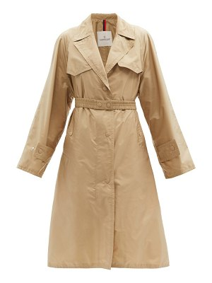 Moncler rutilicus belted shell trench coat