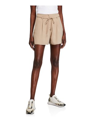 Moncler Self-Tie Belted Shorts