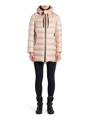 Moncler suyen water resistant hooded down puffer coat