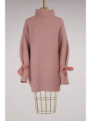 Moncler Wool and cashmere knit dress