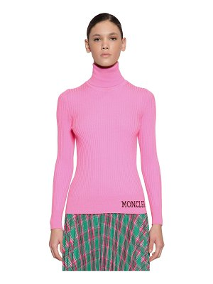 Moncler Wool rib knit sweater