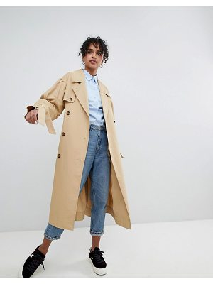 Monki Classic Trench Trench Press Collection