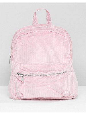 Monki cord mini backpack