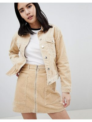 Monki cord trucker jacket