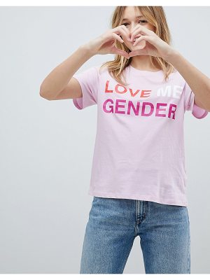 Monki Love Me Gender T-Shirt