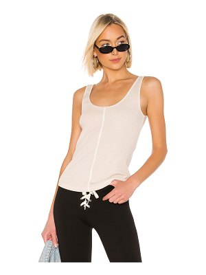 Monrow scoop neck tank