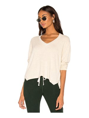 Monrow Slash Shoulder Top