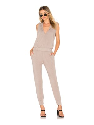 Monrow x REVOLVE Supersoft Sleeveless Hoody Jumpsuit