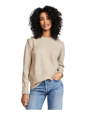 Moon River folded sleeve sweater
