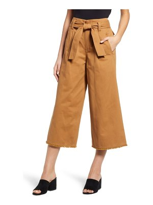 Moon River tie waist culottes