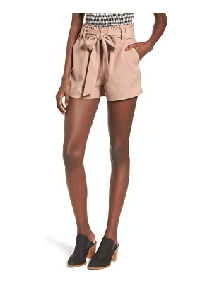 MOON RIVER Tie Waist Shorts