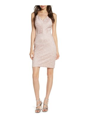 Morgan & Co. lace body-con dress
