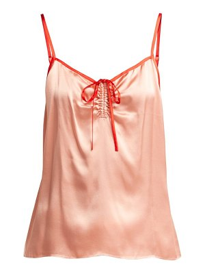 Morgan Lane serena silk satin cami top