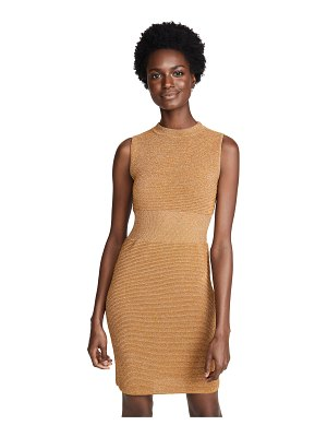 Moschino bodycon ribbed dress