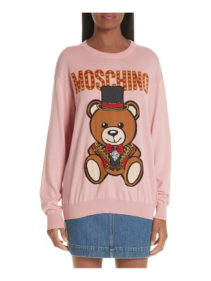 Moschino circus teddy sweater
