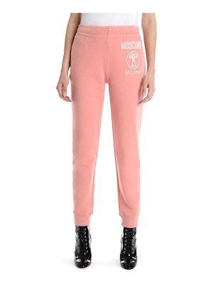 Moschino logo sweatpants