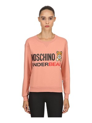 Moschino Underwear Underbear cotton sweatshirt