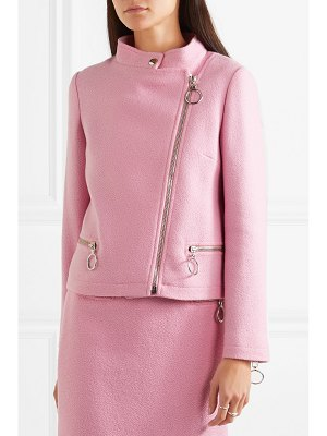 Moschino wool-blend jacket