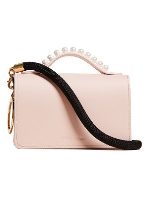 Mother Of Pearl jude stud shoulder bag
