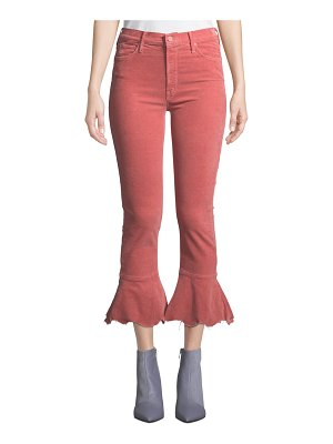 Mother The Cha Cha Chew Distressed Corduroy Jeans