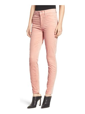 Mother the looker high waist velveteen skinny pants