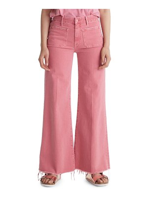 Mother the patch pocket roller jeans