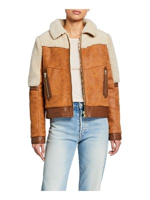 Mother The Trapper Keeper Sherpa-Trim Jacket