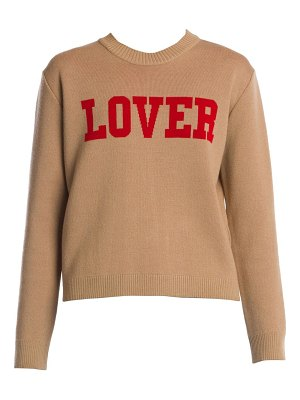 MSGM lover graphic long-sleeve knit