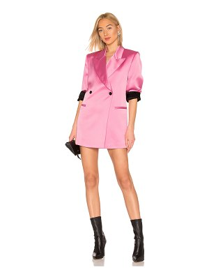 MSGM Satin Blazer Dress