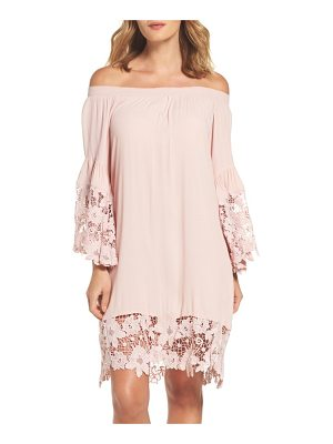 Muche et Muchette jolie lace accent cover-up dress