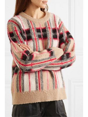 MUNTHE checked knitted sweater