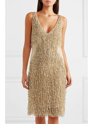 Naeem Khan embellished chiffon dress