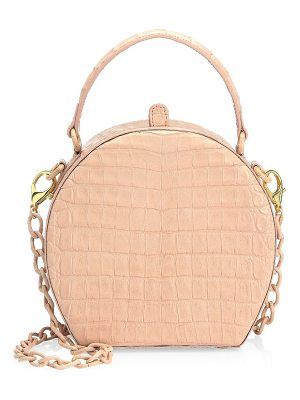 NANCY GONZALEZ Billie Crocodile Box Bag