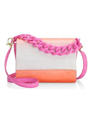 Nancy Gonzalez carrie ombre crocodile clutch