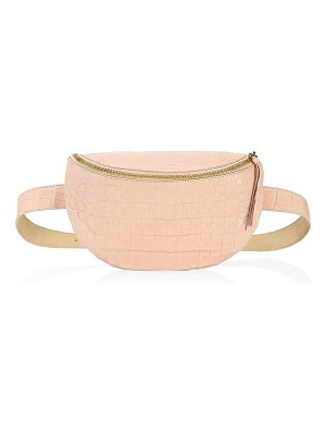 Nancy Gonzalez crocodile belt & shoulder bag
