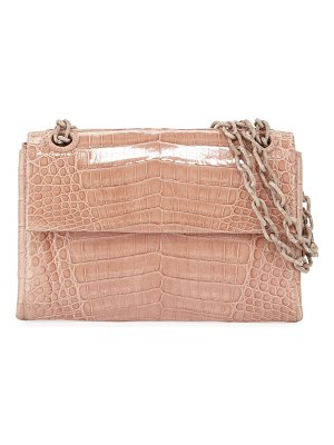 Nancy Gonzalez Madison Crocodile Small Chain Shoulder Bag