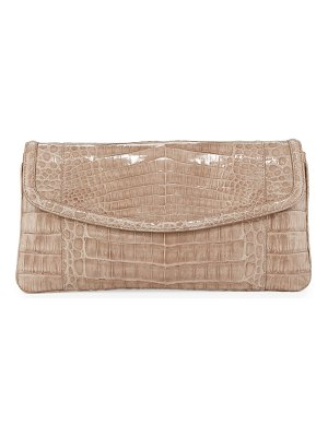 Nancy Gonzalez Tracy Croc Small Clutch Bag