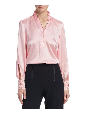 Nanette Lepore eternal beauty silk blouse