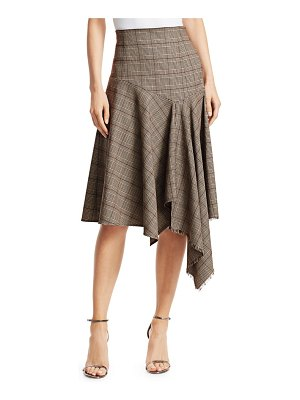 Nanette Lepore first bet plaid handkercheif skirt