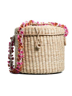 Nannacay ana cherry blossom bucket bag
