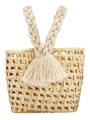 Nannacay - Cotio Kali Straw Tote Bag