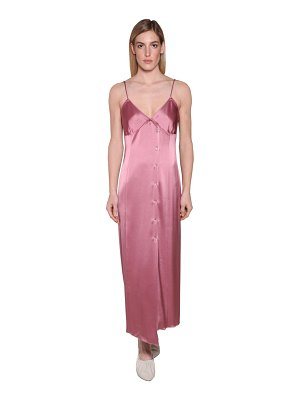 NANUSHKA Ancens satin midi dress