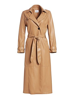 NANUSHKA chiara vegan leather trench coat