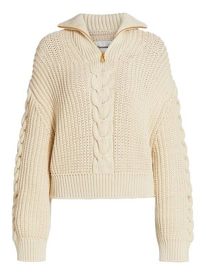 NANUSHKA eria quarter-zip knit sweater